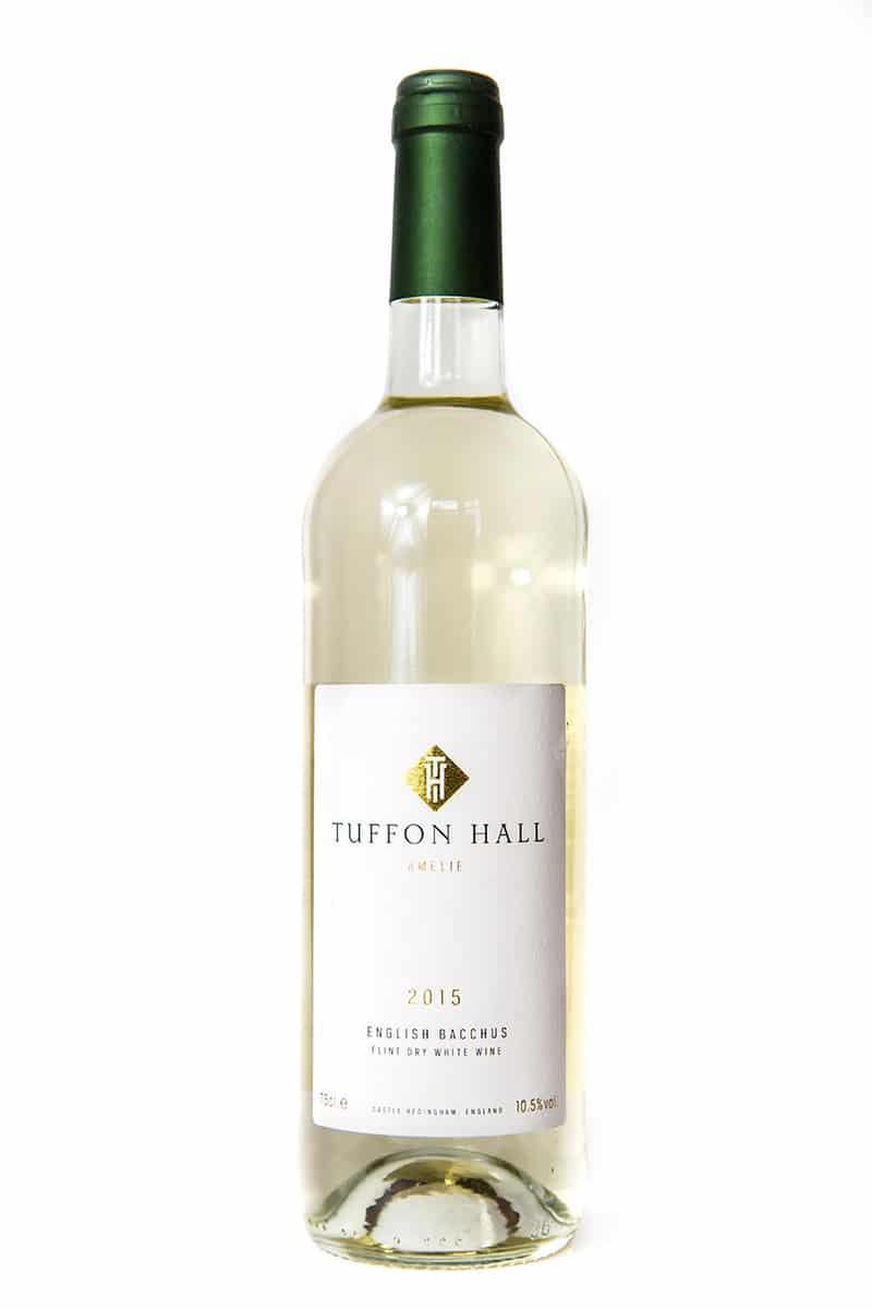 Bacchus 2016 white wine from Tuffon Hall