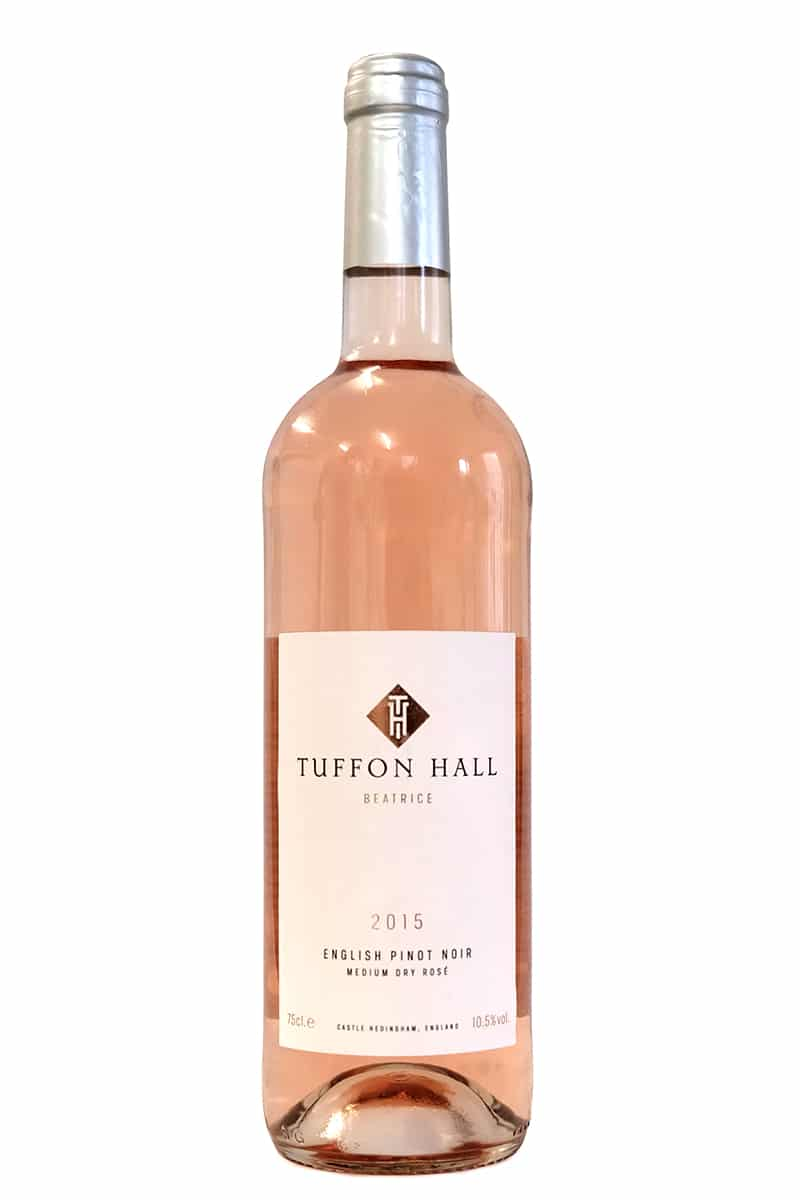 Pinot noir medium-dry rose wine from Tuffon Hall